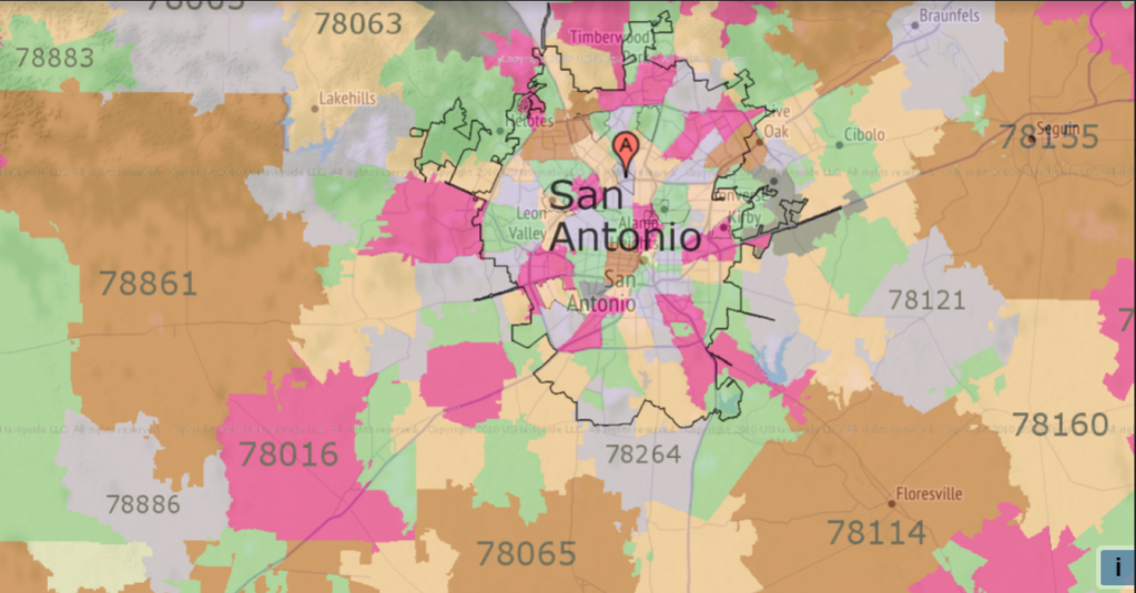 Homes in Zip Code San Antonio